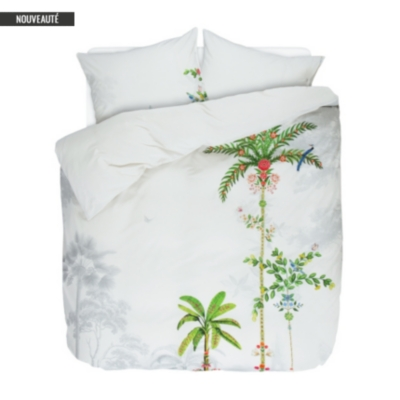 Housse de couette percale Indian Palms  Palms PIP STUDIO