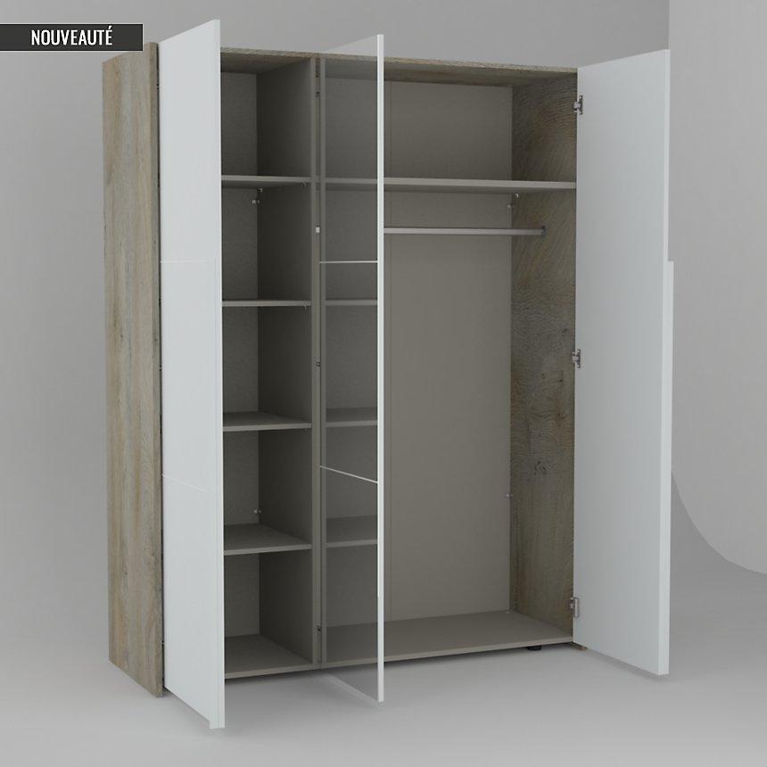 Armoire 3 portes Sandra