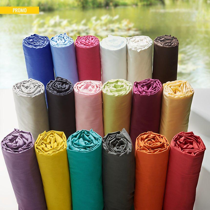 Drap housse TUTTI TEMPO, 15 coloris