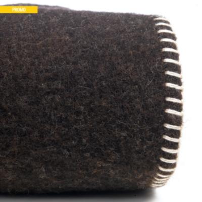 Couverture laine sans teinture Aubrac  OURSON