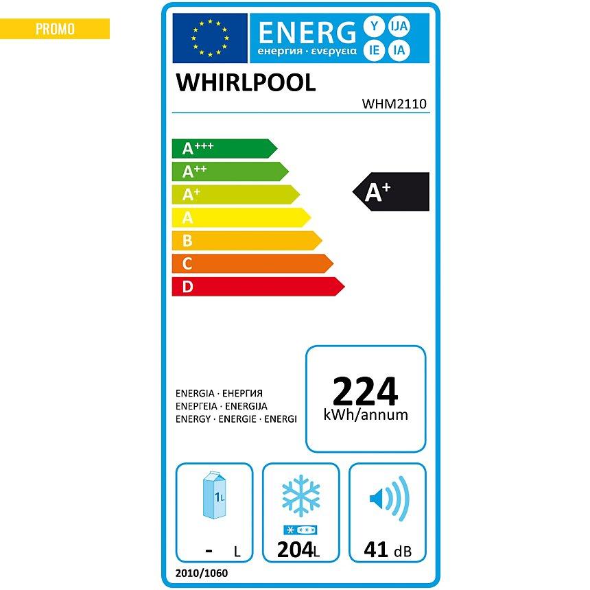 Congélateur coffre WHIRLPOOL WHM2110