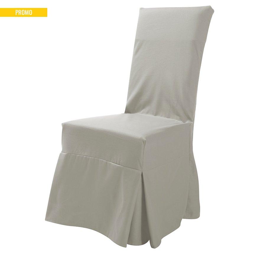 Housse universelle de chaise Tosca  TUTTI TEMPO, naturel