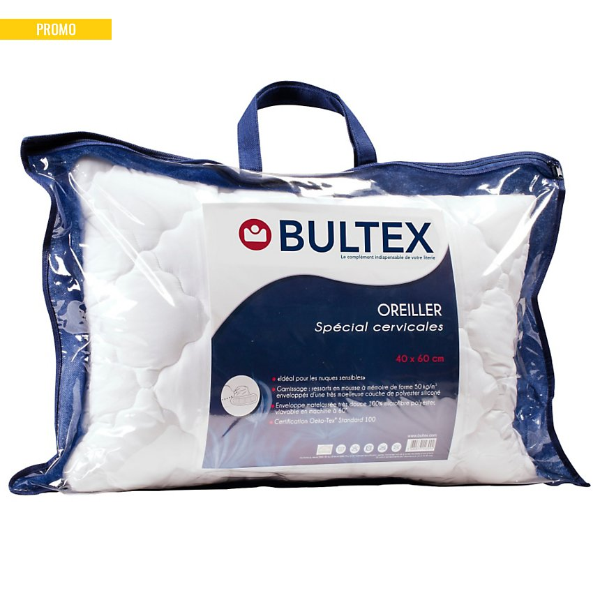 Oreiller Spécial Cervicales BULTEX