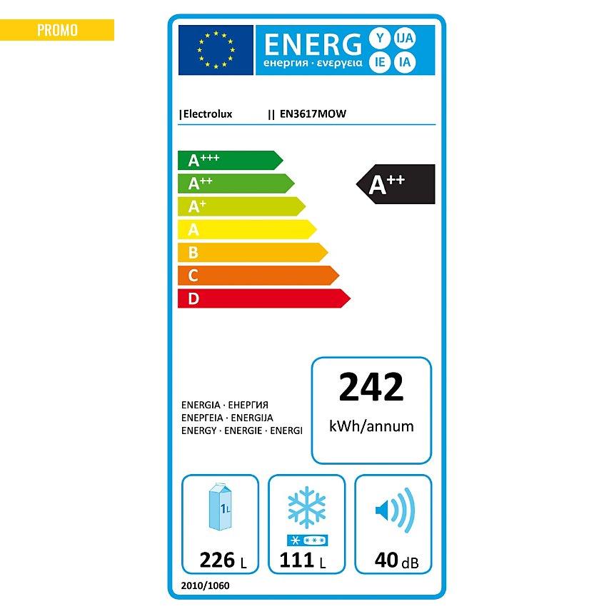 Réfrigérateur combiné ELECTROLUX  EN3617MOW