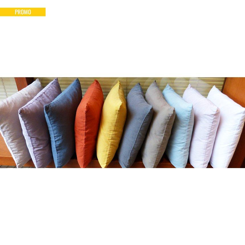 Housse de coussin coton lin lavé  Flandres LABELISSIM