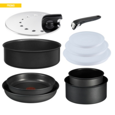 lot 10 pi ces tefal ingenio performance casseroles casseroles electrom nager et chauffage. Black Bedroom Furniture Sets. Home Design Ideas