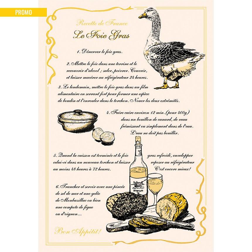 Torchon Foie Gras TORCHONS ET BOUCHONS