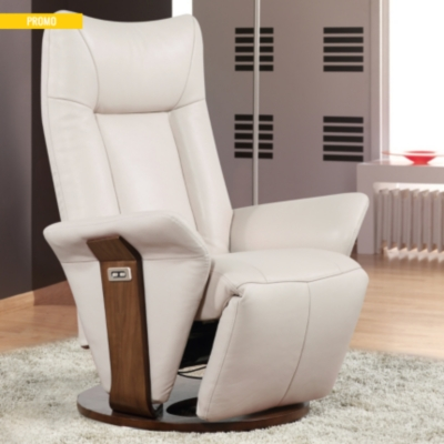 fauteuil relax lectrique cuir cosmos. Black Bedroom Furniture Sets. Home Design Ideas