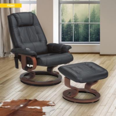 fauteuil relax massant cuir cama eu. Black Bedroom Furniture Sets. Home Design Ideas