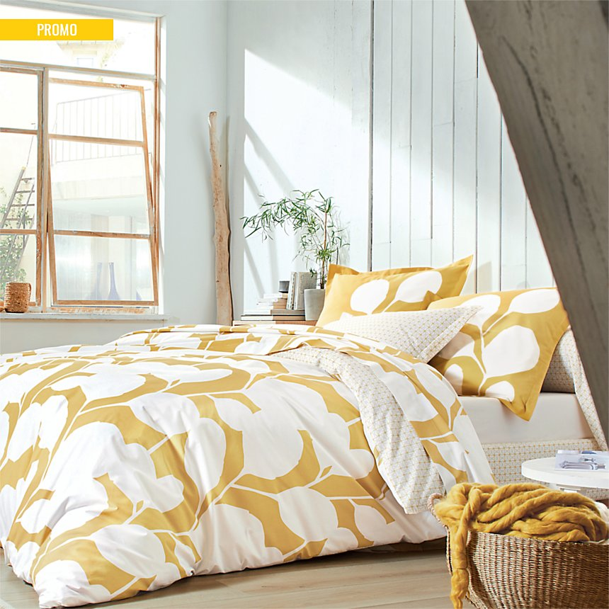 Housse de couette percale Steppes SCION  LIVING