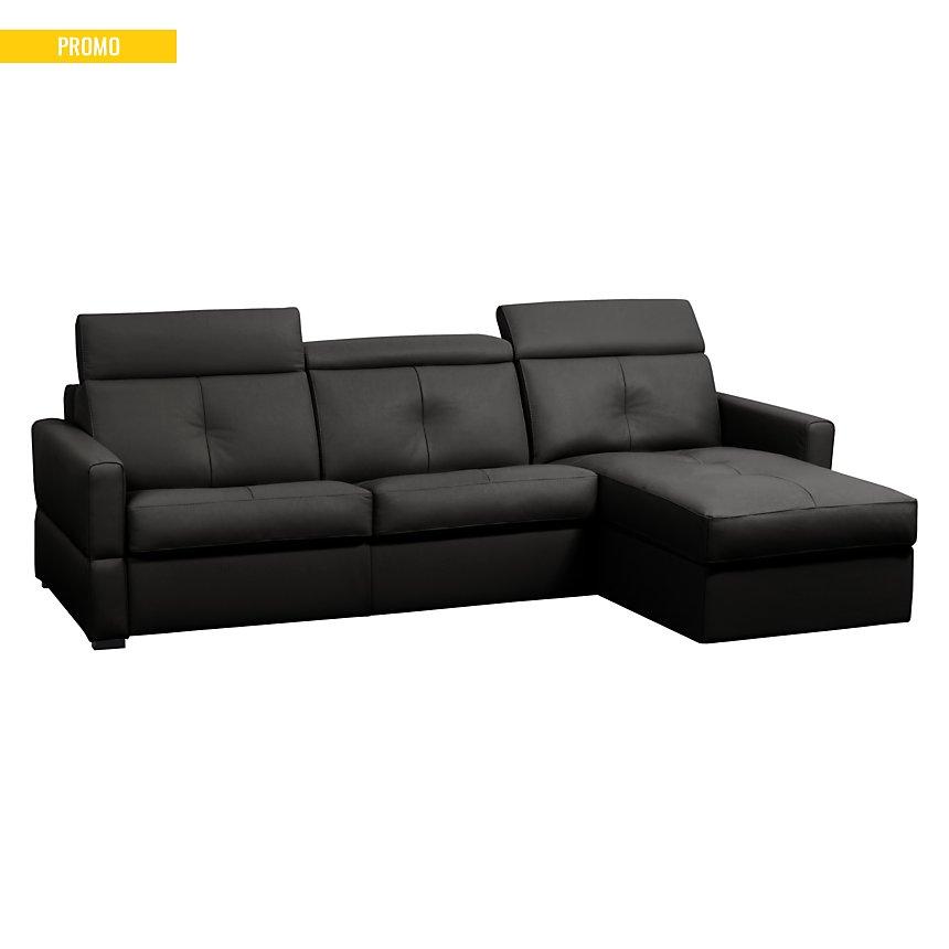 Canapé d'angle cuir Severin