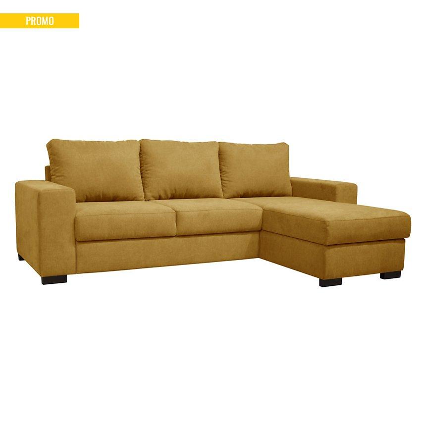 Canapé d'angle convertible et réversible  tissu Peyo
