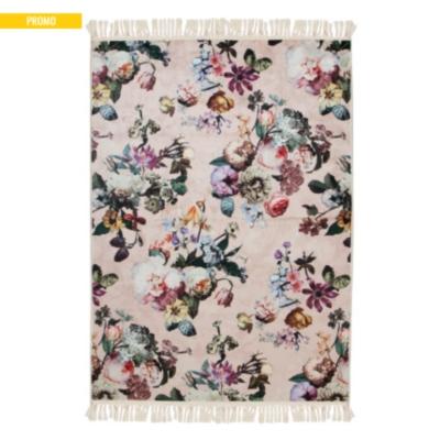 tapis fleur esenza rose - Tapis Fleur