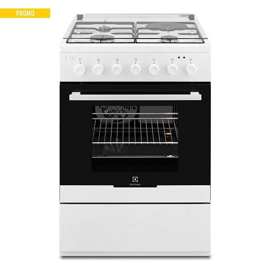 Cuisinière mixte ELECTROLUX EKM60398OW