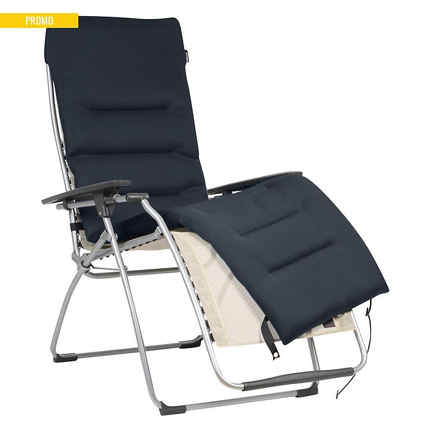 Surmatelas Air Comfort pour Relax LAFUMA  coloris acier