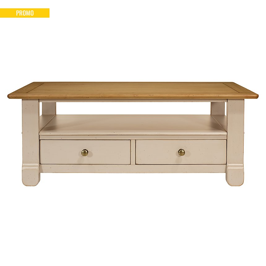 Table basse 2 tiroirs Embellie