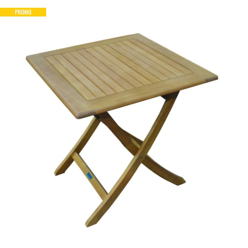 Table Sophie 70 en Eucalyptus finition imitation teck Pro ...