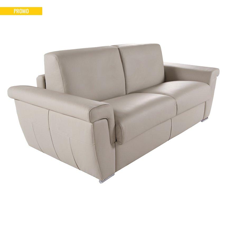 Canapé convertible cuir Elysée