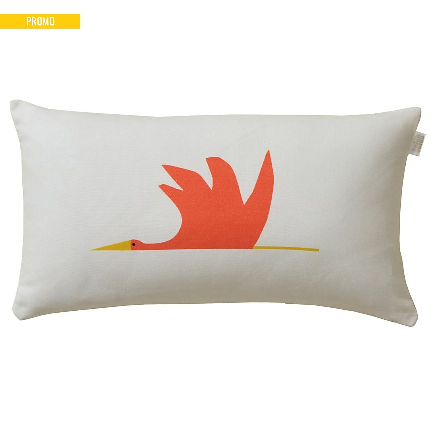 Coussin Cigogne SCION LIVING, Orange