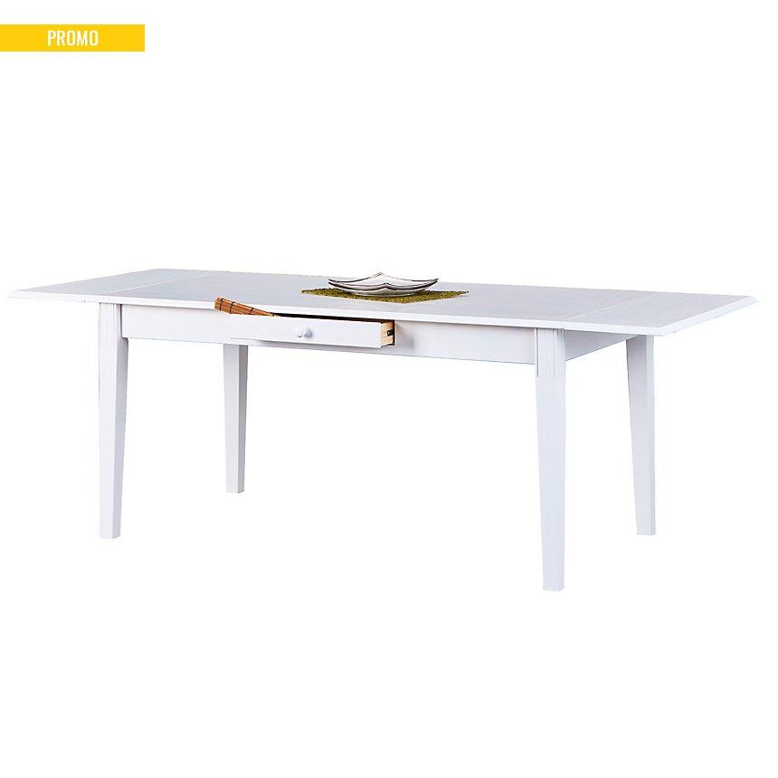 Allonge de table Inata, blanc