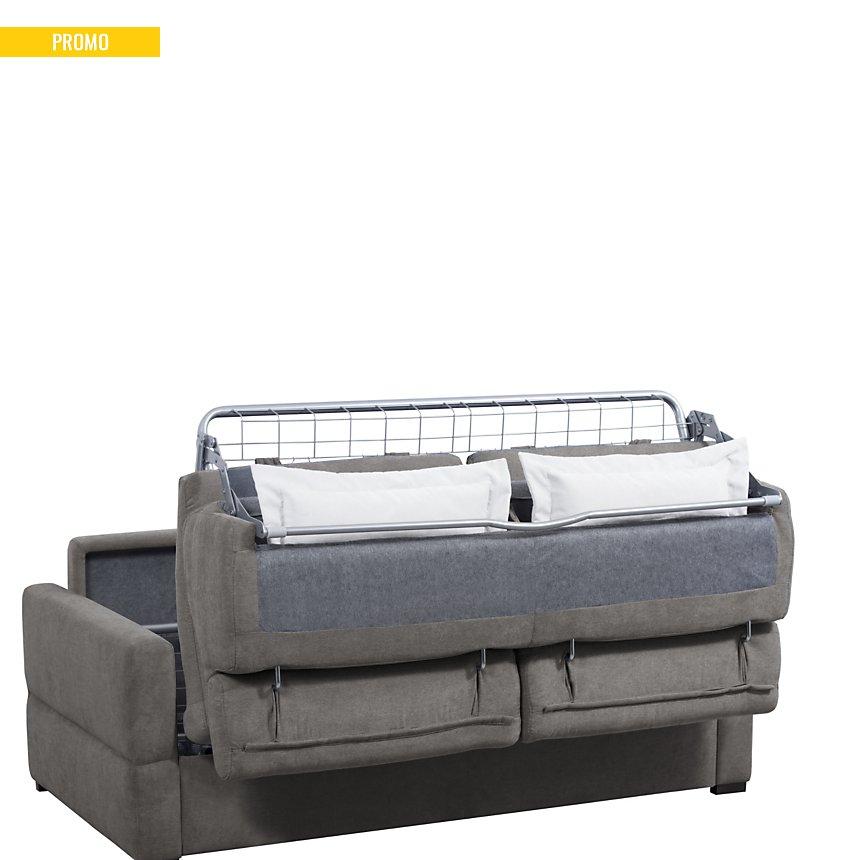Canapé convertible tissu antitache  Severin