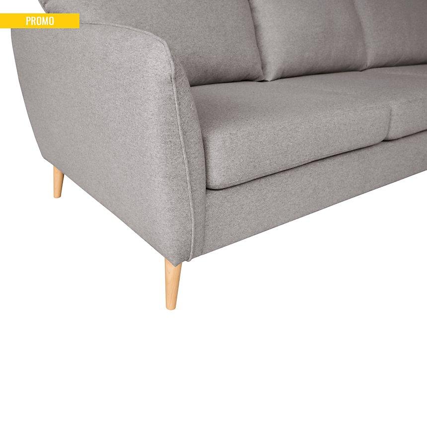 Canapé d'angle tissu Finn