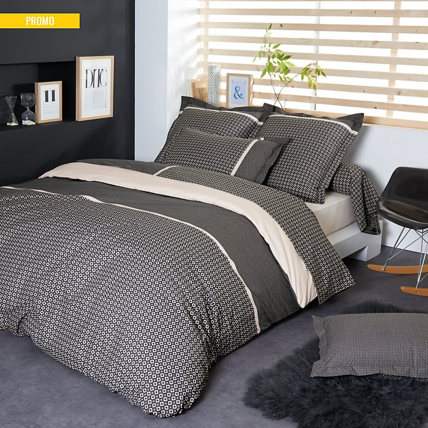 Housse de couette percale Gatsby  TRADILINGE