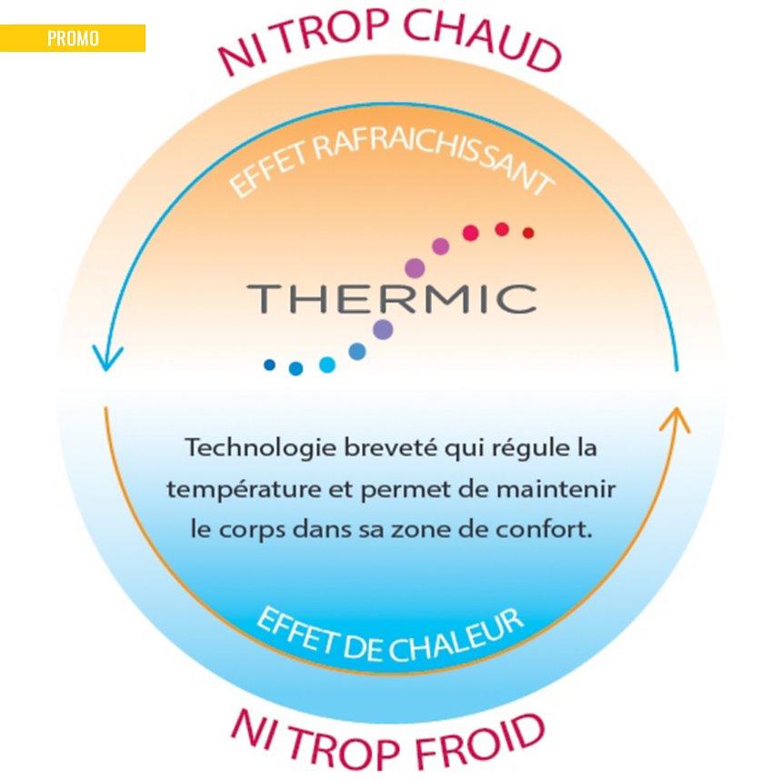 Protège oreiller thermorégulant Sérénité  BLANC DES VOSGES