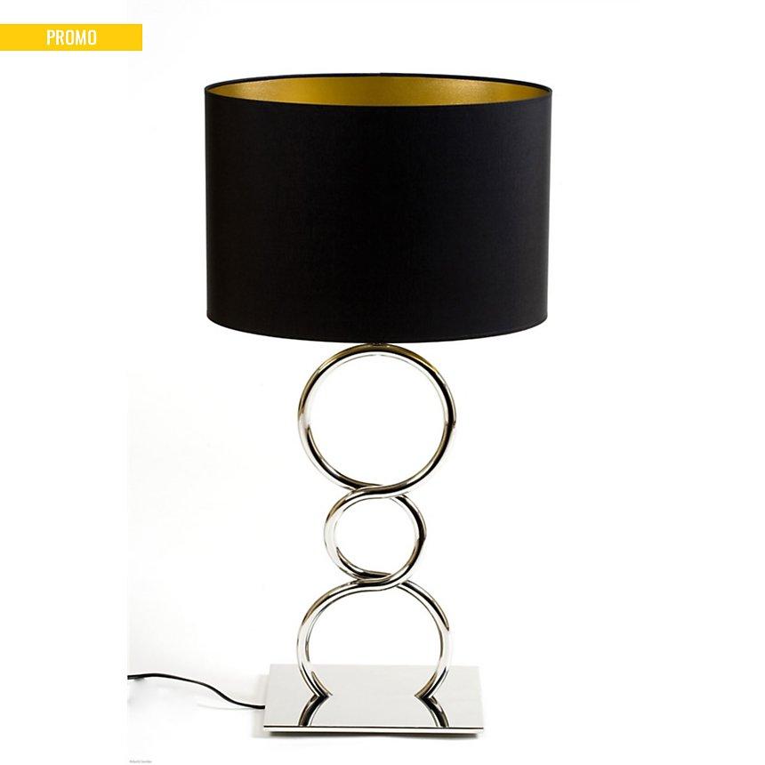Lampe Design Round and Round noir