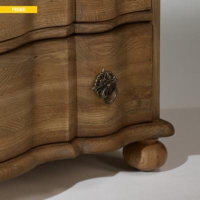 Commode, chêne, 3 tiroirs, Chaumont