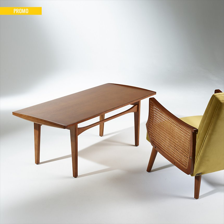 Table basse en bois, DAHLIA