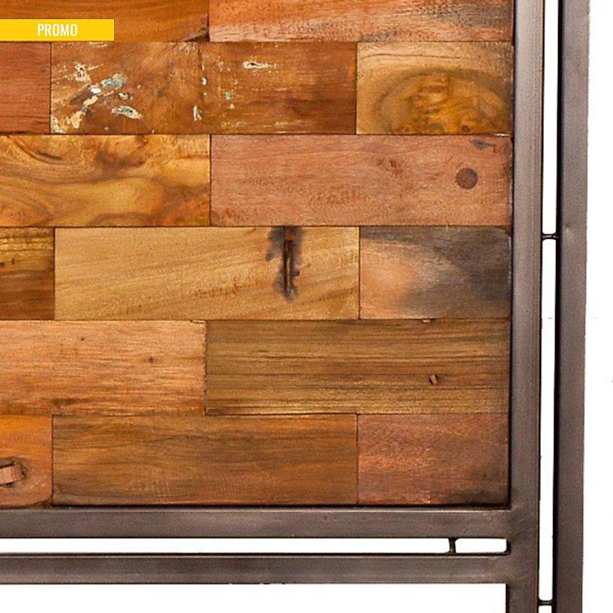 Tête de lit en bois Industry