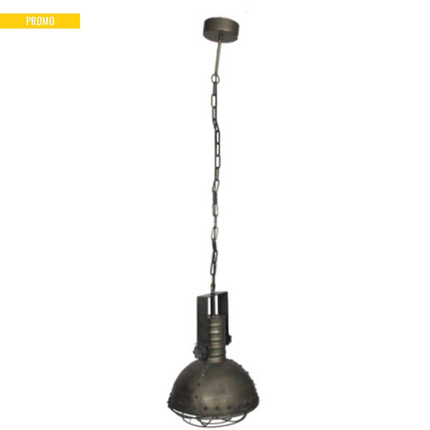 Suspension Usine en métal