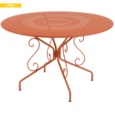 Table FERMOB Montmartre Ø117 - Tables jardin métal - Tables de ...