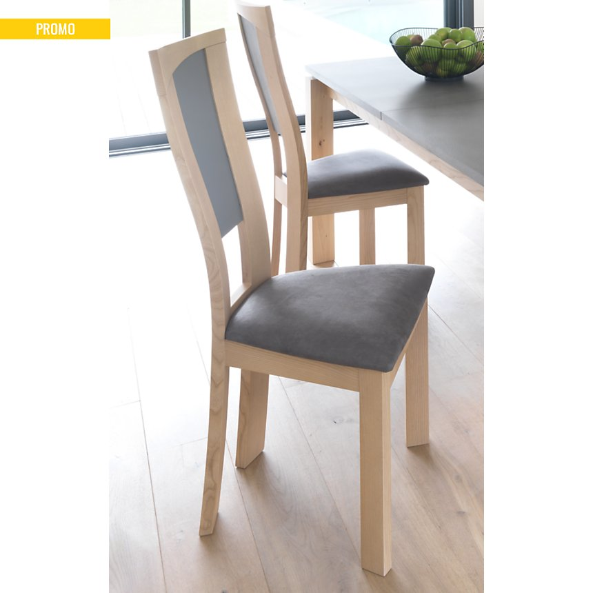 Lot de 2 chaises Salambo