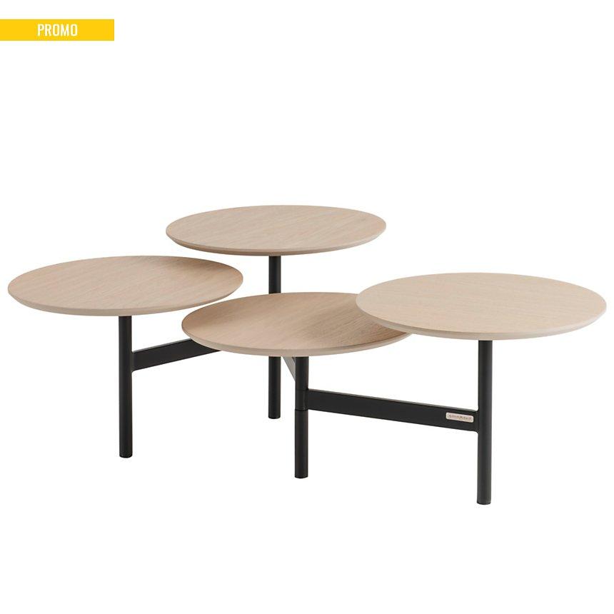 Table basse 4 plateaux Mestes
