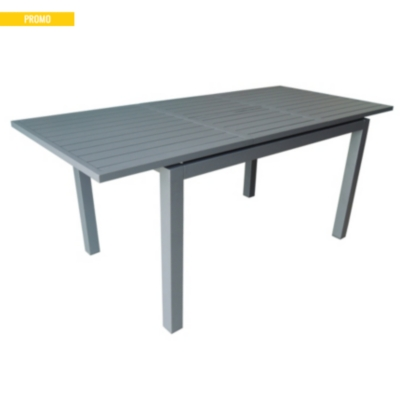 table trieste 280 avec allonge papillon et structure aluminium pro loisirs. Black Bedroom Furniture Sets. Home Design Ideas
