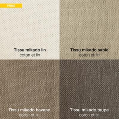 Fauteuil Naxos coton lin