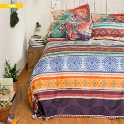 housse de couette percale tribal galactic desigual. Black Bedroom Furniture Sets. Home Design Ideas
