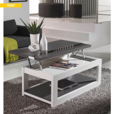 table basse relevable zamora. Black Bedroom Furniture Sets. Home Design Ideas