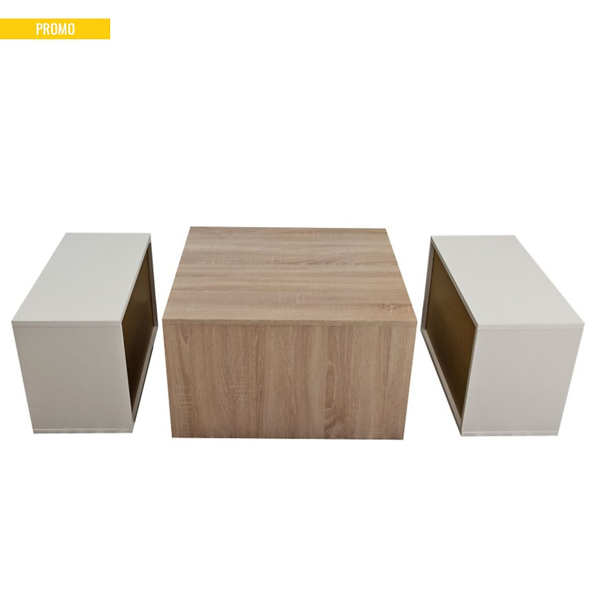 Table basse modulable Montaud