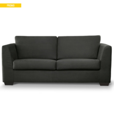 Canapé d'angle tissu coton déhoussable H awai