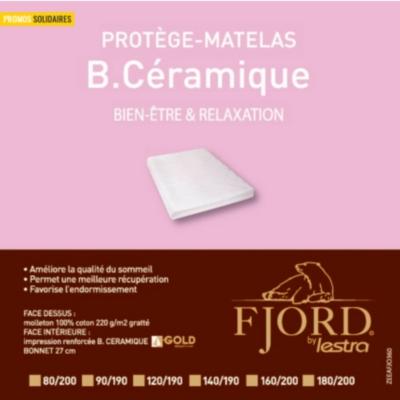 Protège matelas B-Céramique Fjord  LESTRA