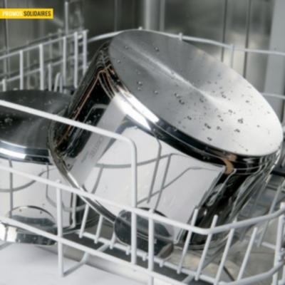 3 casseroles CRISTEL Mutine amovibles  - 16 à 20 cm