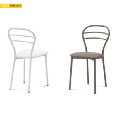 Lot de 4 chaises connie  DOMITALIA