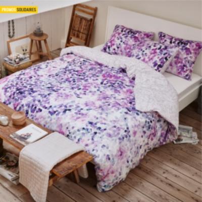 housse de couette satin coral esprit home. Black Bedroom Furniture Sets. Home Design Ideas