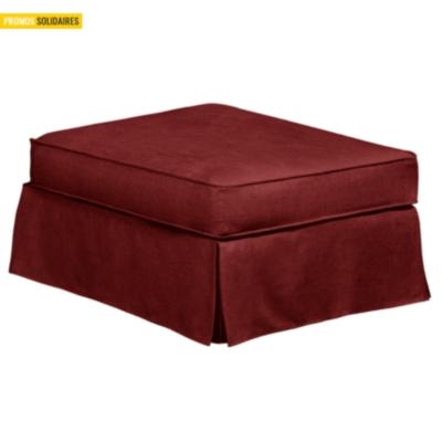 Pouf Maeva coton lin
