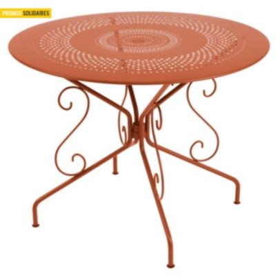 Table FERMOB Montmartre ronde Ø  96 cm