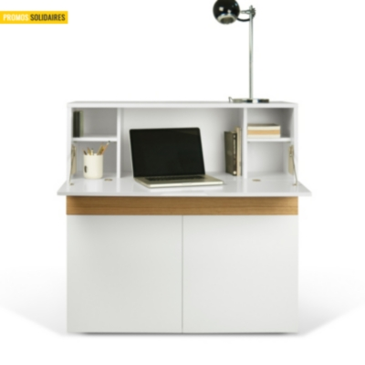 Bureau tim meuble for Bureau meuble camif