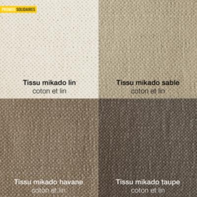 Canapé Maeva coton lin